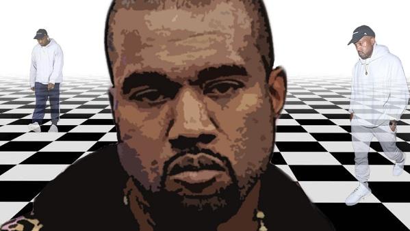 Kanye West bitchy resting face