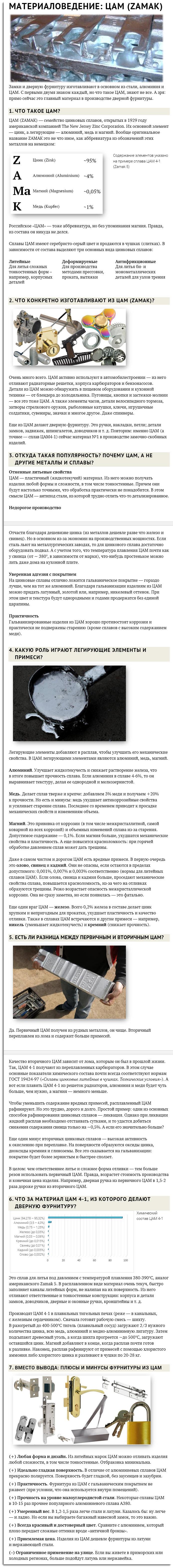 Техническая статья для сайта (материал ЦАМ)